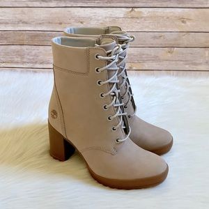 """Timberland Camdale 6"""" Light Taupe Boots"""